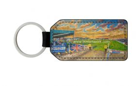 the showgrounds PU Leather Keyring Printed Both Sides